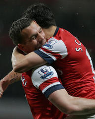 arsenal 4-wigan 1: wigan go down as arsenal edge closer to europe