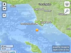 Breaking: 4.0 Earthquake Strikes Offshore Today