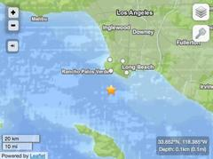 BREAKING: Earthquake Hits South of Palos Verdes